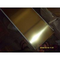 光亮纯黄铜板H70镜面黄铜板厂家