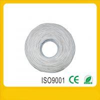 工程专用 cat5e国标纯铜网线 蓝色浅灰色 传输快质量好