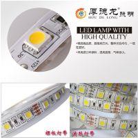 LED灯带12V5050贴片滴胶防水60珠10-12流明柔性灯条厂家直销
