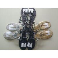 一件代发外贸女凉鞋PVC 水晶凉鞋塑料女鞋厂家直销批发外贸接单