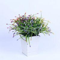 创意水草仿真小盆栽植物盆栽装 假花许愿假树生日礼物迷你盆景