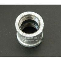 供应福莱通钢管直接 可锻铸铁管箍价格 玛钢管件厂家生产
