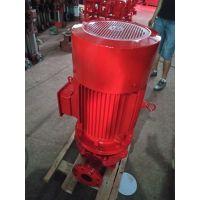 边立式多级消防泵 给排水设备厂家专注水泵12年 XBD17.6/10-65DLL*6