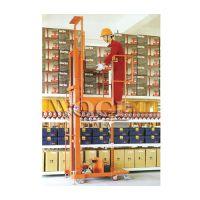 WO高空取料机供应_上海高空取料机_双门架半电动高空取料机