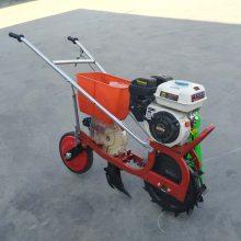 全自动汽油施肥机 自走式施肥机 富民牌