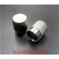 江帆通信 光纤FC适配器 金属防尘帽 红光比笔测试仪/器防尘铜旋钮