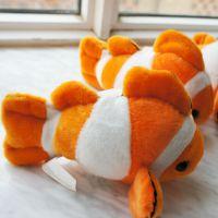 厂家直销可爱动物毛绒玩具小鱼家居摆饰