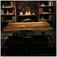 家有名木供应原生态艺术大板南美花梨餐桌画案会议桌办公桌个性茶桌个性酒吧台厂家直销