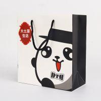 厂家定做手提袋定制印刷 礼品袋 牛皮纸袋 服装袋 白卡纸袋印刷