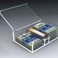 郑州亚克力香烟展示架定制加工