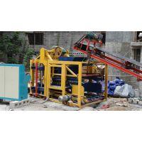 水泥砌块砖机_科锐机械_水泥砌块砖机多少钱