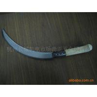 【热销中】园林绿化45钢锯齿镰刀 短柄尚正镰刀