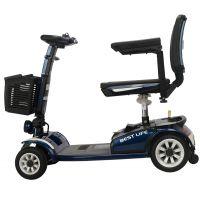 电动老年人残疾人轮椅车轻便可折叠老年代步车厂家直供