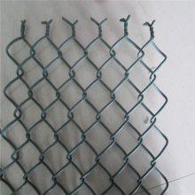镀锌勾花护栏网 动物园隔离网 绿色养殖网