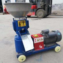 供应电机直连饲料颗粒机 水产养殖饲料加工设备