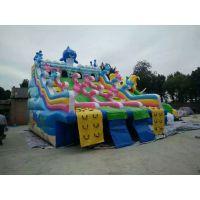 郑州腾龙游乐专业生产 充气水滑梯 优质产品
