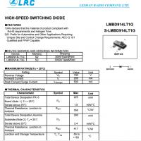LRC开关二极管LMBD914LT1G