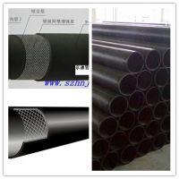 供应天津京通塑料pe钢丝骨架复合给水管(160*6) hdpe给水管