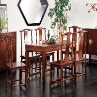 老榆木古典餐桌椅