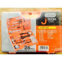 上海捷科 JEB-F26电子维修工具套装 26件组合工具 工具套装