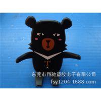 供应大号卡通支架 熊大手机支架 PVC熊二手机支架 欢迎来图定制