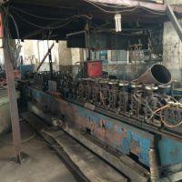 16二手焊管机组 飞锯 活套 上料 价格面仪