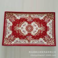 欧式古典 雪尼尔卧室地毯 浴室防滑地垫 厂家现货 【图】
