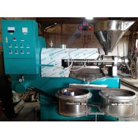 全自动食用油压榨设备 商用螺旋榨油机 高效花生油葵榨油机