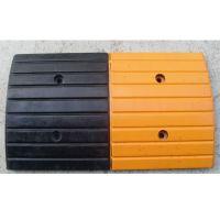 橡胶减速带 汕头减速垄流线型缓冲带500*370*50mm