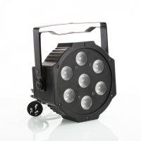 7颗9W三合一超薄轻便型大功率LED舞台染色帕灯舞台灯光