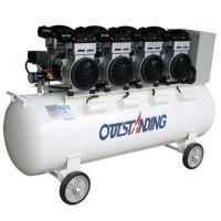 奥突斯OTS-1500x4-160L无油静音空压机 6KW无声充气泵空气压缩机