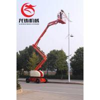 12米车载折臂式升降平台路灯维护登高作业车