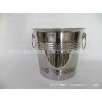 不锈钢加厚冰桶红酒桶葡萄啤酒桶冰粒筒香槟桶冰酒桶酒具酒店用品