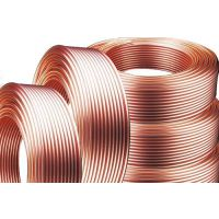 供应知行 紫铜盘管 R410空调铜管 材质TP2紫铜管