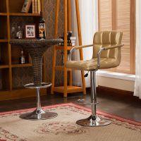 厂家直销批发高端现代吧台椅子 皮质高脚转椅 时尚创意升降酒吧椅