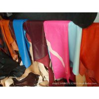 北京皮革彩色真皮绵羊皮A级头层服装革手套革羊皮料批发定制色