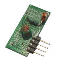 无线接收模块 5V超再生接收模块 晶振稳频率