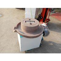 新一代电动芝麻酱石磨机 环保型电动石磨 鼎信批发零售