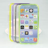 新款iphone6 超薄亚克力tpu透明二合一手机壳4.7 5.5手机保护套