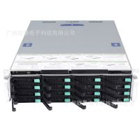供应广州欧曼3U热插拔服务器机箱 厂家直销储存机箱 支持16硬盘位及 2U电源 冗余电源