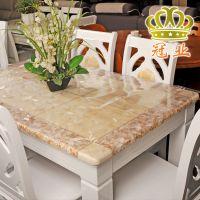 厂家生产批发台布防水防油PVC防水桌布定制高档软玻璃长方形桌布