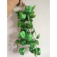 仿真水果串 仿真蔬菜串  水果藤条装饰  农家乐装饰 泡沫水果批发