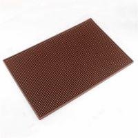 厂家定制硅胶滤水垫 防滑酒吧台垫 硅胶沥水垫