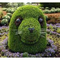 五色草绿雕植物造景景观