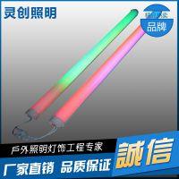 安徽芜湖市 LED数码管 外控内控 RGB 防水 高亮 工厂直销—灵创照明