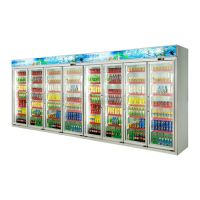 八门饮料冷藏展示柜,安德利冷柜,环保节能,质量保障