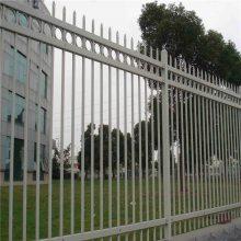 学校围墙护栏 锌钢护栏网 方管围栏