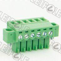 供应特供 总代理上海雷普LEIPOLE线路板端子系列-插拔式接线端子PCB端子 15ELPKM-3.81