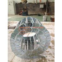 嘉隆厂家直供机床专用钢铝拖链 TL180框架式工程拖链