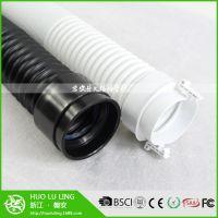 厂家直销 152mmPP塑料软 除湿专用伸缩钢丝通风软管